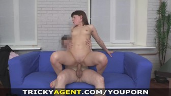 Tricky Agent - Tricked into casting fuck