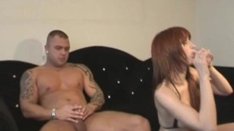 Hard Dutch redhead Shagged