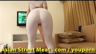 Clean Thai Slapper Sweats For Sperm