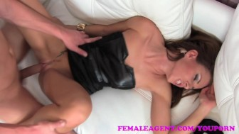 FemaleAgent Can young stud deliver the goods for agent