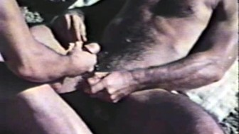 Vintage clip of guys fucking by the water - Blue Vanities