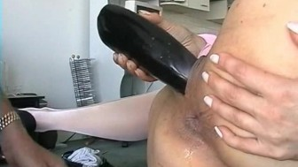 Extreme Anal Toying, Fingering And Fucking