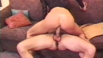 Husband video tapes his best friend fucking his wife in the ass - Telsev