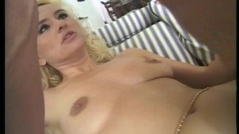 Busty Blonde Bounces On Huge-Cock - Telsev