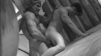 Masked threesome cum orgy - HIS Video