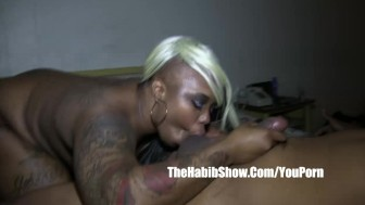 BBC 13inch monster dick redzilla fucks pierced tattooed freak pussy