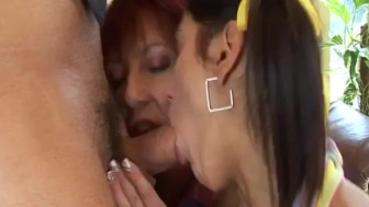 Milf and al fucked by boss