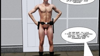 INVISIBLE COCK Gay Sci Fi 3D Cartoon Animated Comic Story