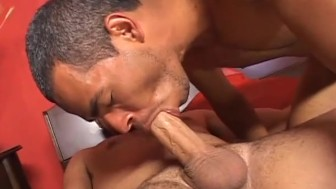 Silver latino daddy gives it up raw - ROBERT HILL