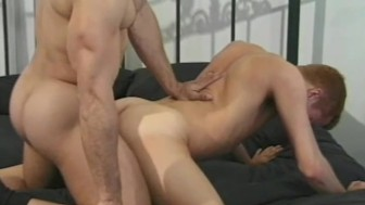 Muscle daddy treats his twink - ROBERT HILL