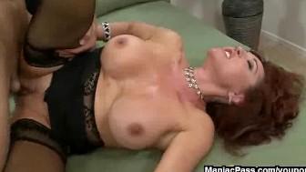 Sexy Vanessa loves creamy cock