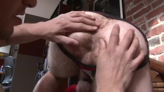 Hunk Fucked Doggy - Factory Video