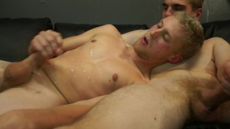 Skinny guys sucking dick - Factory Video