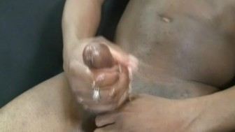 Ghetto Gay Playing His Black Cock