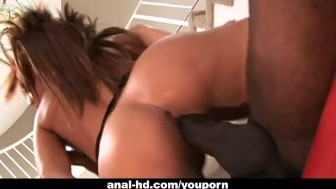 Holly Wellin gets her ass demolished by black cock
