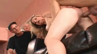 Blonde Swinger Wife Amazes