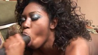 Hot Ebony Creampie - Candy Shop