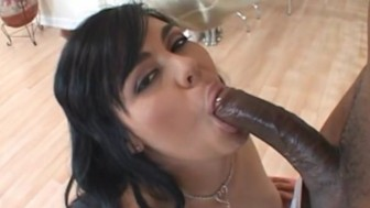 Big booty latina takes on BBC - Candy Shop