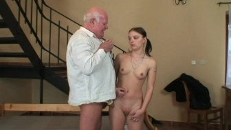 young chicks first sex with a grandpa