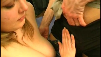 Blonde BBW Christine wants anal
