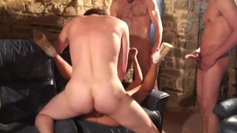 voyeur papy invited in pool orgy