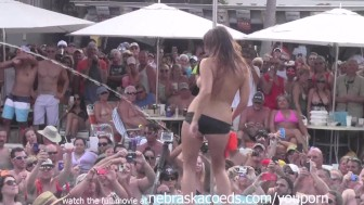fantasy fest 2013 dantes pool contest hot milfs and chicks complete for cash
