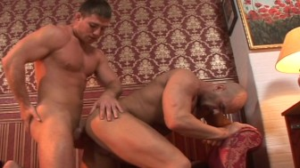 Straight voyeur watches gay couple fucking and enjoys it - Lucas Entertainment