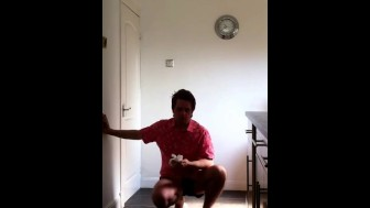 Male Sneezing and Foot Fetish Model (Amateur Male)