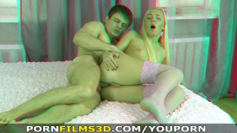 Porn Films 3D - Assfucked in pink stockings