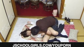 Busty schoolgirl fucking on cam