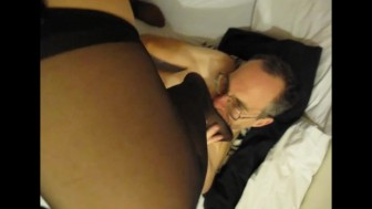 Hotel Escort Stocking Foot Licked