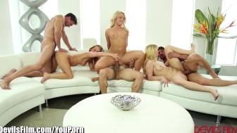 DevilsFilm 3 Swinging Blondes Swap Cocks