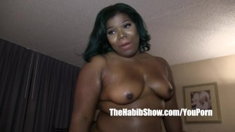 thick freaky chocolate fucked by bbc redzilla p2