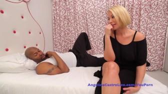 Angelina Castro and Mellanie's public masturbation and hard fucking!