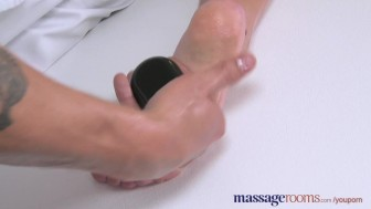 Massage Rooms Teen with plump round bum gets a good hard fucking
