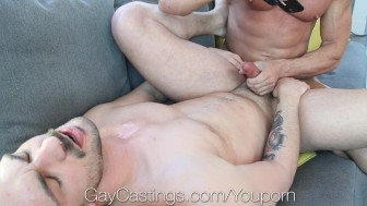 HD - GayCastings New to porn Andy wants to fuck on camera