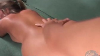BBW Milf gets her natural tits covered in cum