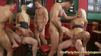 extreme party anal orgy