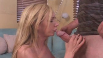 Amazing Feeling Of Two Cocks In Her