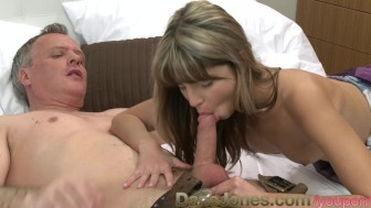 DaneJones Slim shaved babe oral and anal
