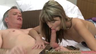 DaneJones Slim shaved babe oral and anal