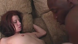 Skinny Teen Stretched By Big Black Dick