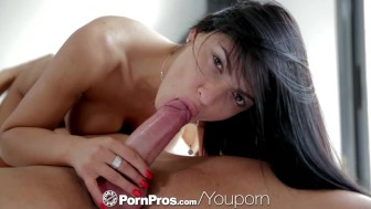 HD - PornPros Dark haired vixen Honey Demon gets a deep massage