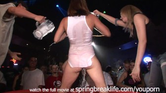 girls night out wet t contest