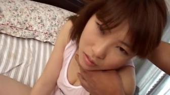Teen Hikaru Hinata enjoys her warm twat