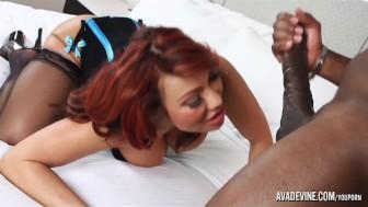 PornstarPlatinum - Ava Devine and Mandingo's 12inch cock