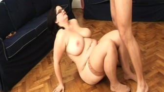 extreme flexible fat housewife