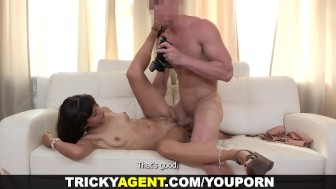 Tricky Agent - Tricky casting with a creampie