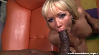 Austin Taylor Loves Big Black Dicks!
