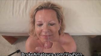 Mature amateur try porn